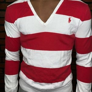 Other - Polo by Ralph Lauren V-Neck Lightweight Sweater